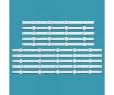 """Планки LED подсветки 49""""   LG Innotek DRT 3.0 49""""_A (+B)   LG 49LB629V-ZM, 49LB561U-ZE, 49LB561U-ZC"""