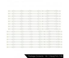 """Планки LED подсветки 55""""   LG Innotek POLA 2.0 55"""" A (+B)   LG 55LA6200, 55LN570V, 55LN575V, 55LN575"""