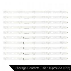 "Планки LED подсветки 40"" | SAMSUNG 2013SONY40A  | Sony KDL-40RM10B, KDL-40W600B, KDL-40R480B"